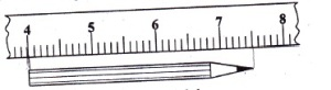 penggaris pensil